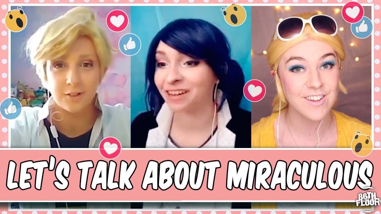 Cosplayers Chat about Miraculous Ladybug - ZOOM EDITION