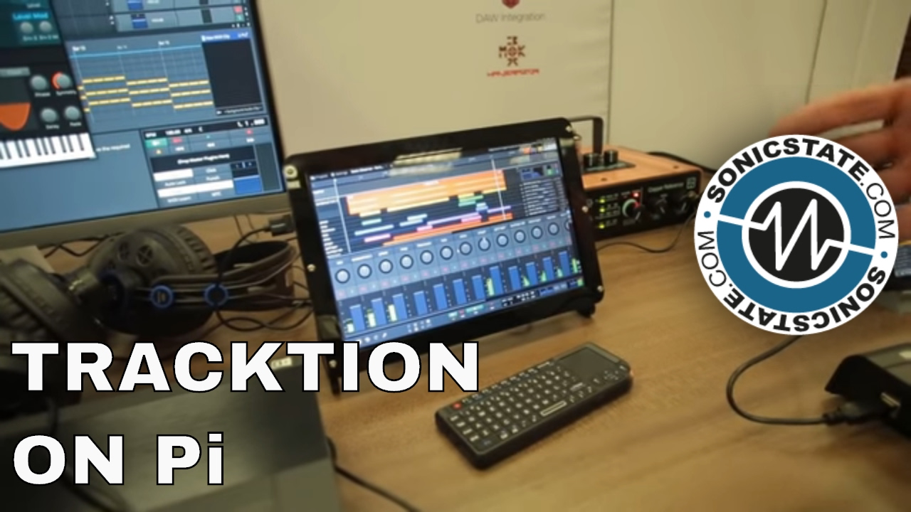 NAMM 2017: Tracktion's Raspberry Pi Based Audio Apps