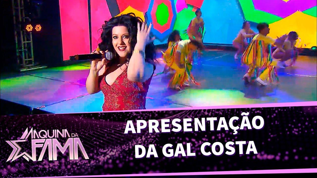 Apresentação da Gal Costa cover | Máquina da Fama (17/10/20)