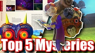 Top 5 Mysteries in Zelda Majora's Mask