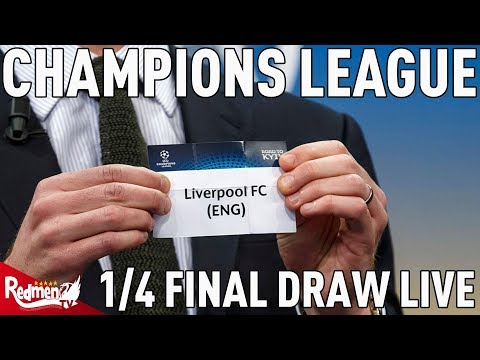 Liverpool v Man City!   Champions League Quarter Finals Draw Reaction LIVE