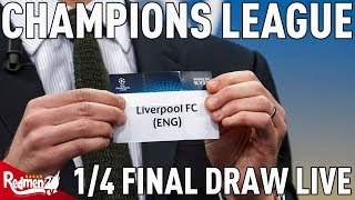 Liverpool v Man City! | Champions League Quarter Finals Draw Reaction LIVE