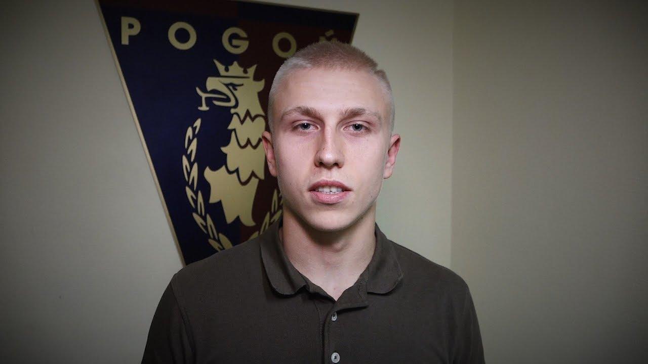 Dawid Błanik w Pogoni Szczecin