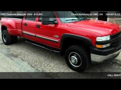 "Chuck Nicholson Gmc >> 2002 Chevrolet Silverado 3500 Crew Cab 167"" WB 4WD DRW - for sale in Dover, OH 44622 - YouTube"