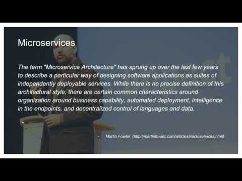 Lessons Learned from Migrating Legacy Enterprise Applications to Microservices — Ross Zhang, Jun Li