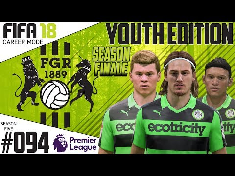 Fifa 18 Career Mode  - Youth Edition - Forest Green Rovers - EP 94