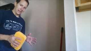 How to fix nail holes in the wall