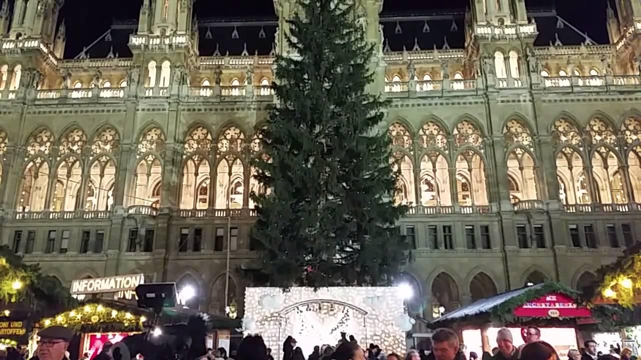 Weihnachtsmarkt Wien Eröffnung.Christkindlmarkt Eröffnung 2015 Rathaus Wien