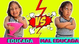 Criança Educada VS Criança sem Educação (Tipos de Crianças) - MC Divertida