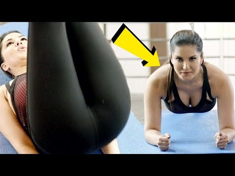 WOW! Sunny Leone Workout For Goddess Body | Bollywood Actress Fitness Regime