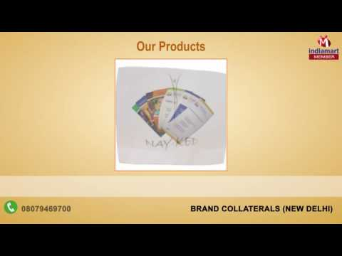 Complete Printing and Packaging Solutions By Brand Collaterals, New Delhi