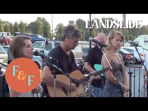 Foxes and Fossils cover Landslide