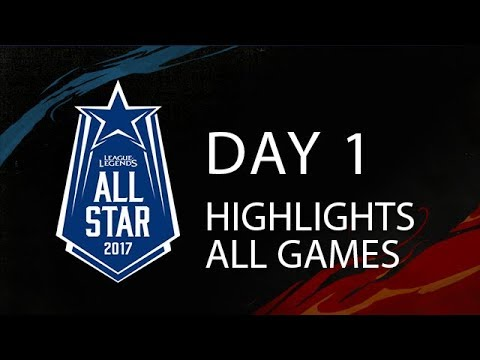 2017 All Stars Highlights Day 1 All Games - Zoe Annihilating everyone