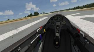 Aerofly FS 2: how to use the flaps on the ASG 29 glider