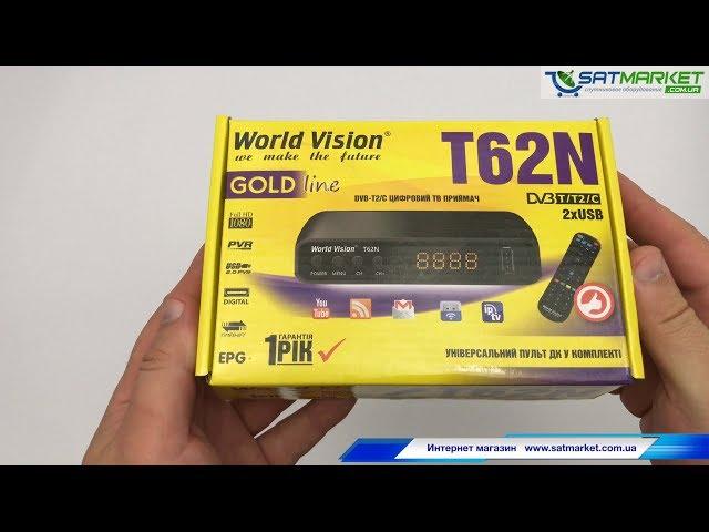 Видео обзор World Vision T62N