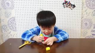 화니주니놀자 - 악어거북 종이접기