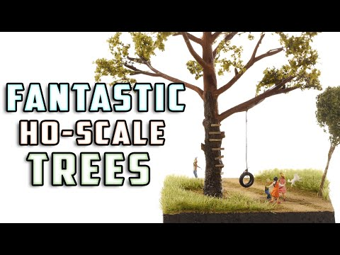 Realistic Trees for Your Model Layout – How-To – Model Railroad