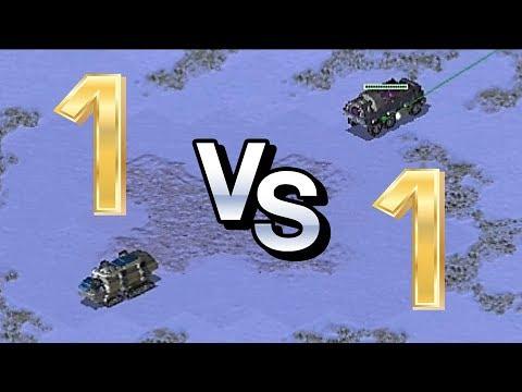 1 vs 1 Extra Small Map | Red Alert 2 Yuri's Revenge Online Multiplayer Gameplay