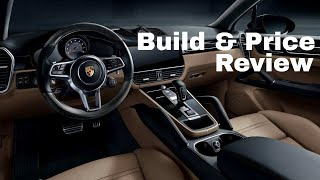 2019 Porsche Cayenne S - Build & Price Review - Standard Features, Options and Specs