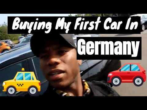 Buying My first car in Germany