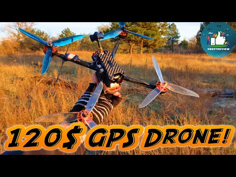 Фото ✔ Самый Дешевый FPV Long Range Квадрокоптер с GPS - Eachine Tyro129 7 Inch!