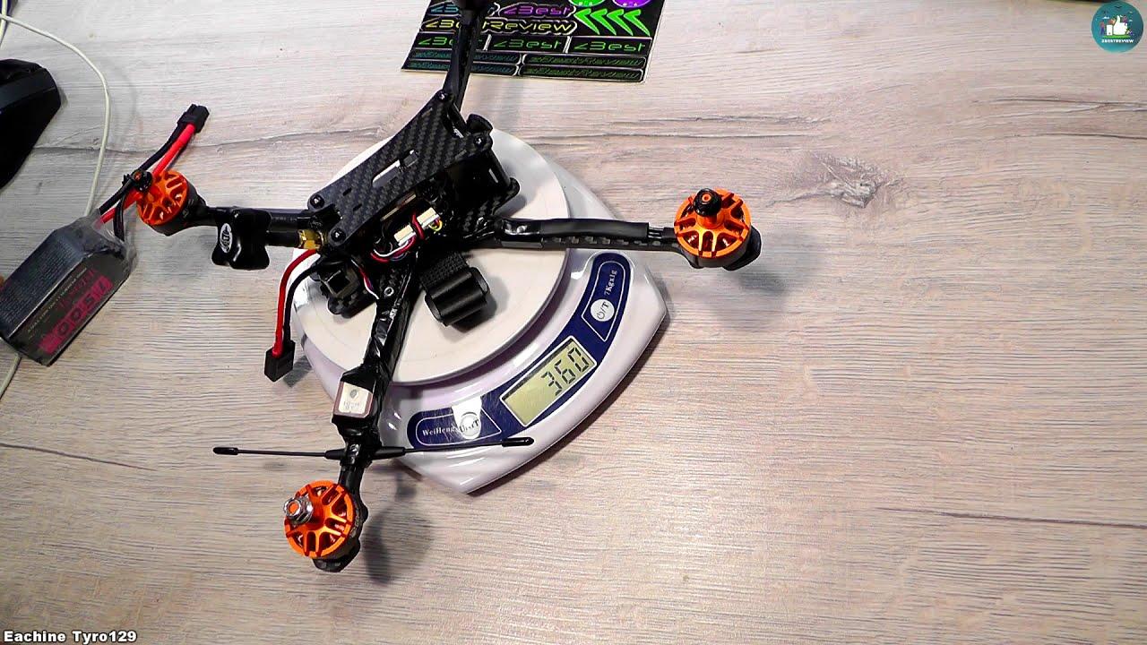 ✔ Самый Дешевый FPV Long Range Квадрокоптер с GPS - Eachine Tyro129 7 Inch! фотки