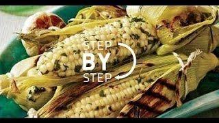 Herb Roasted Corn On The Cob, Oven Roasted Corn On The Cob Recipe, How To Roast Corn On The Cob