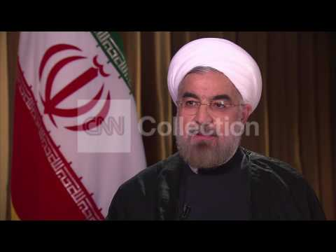 IRAN PRES ROUHANI-NEGOTIATE NUCLEAR ISSUE WITH US