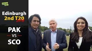 'It's the attitude that wins you the matches' - Ramiz Raja - Scotland vs Pakistan (2018)