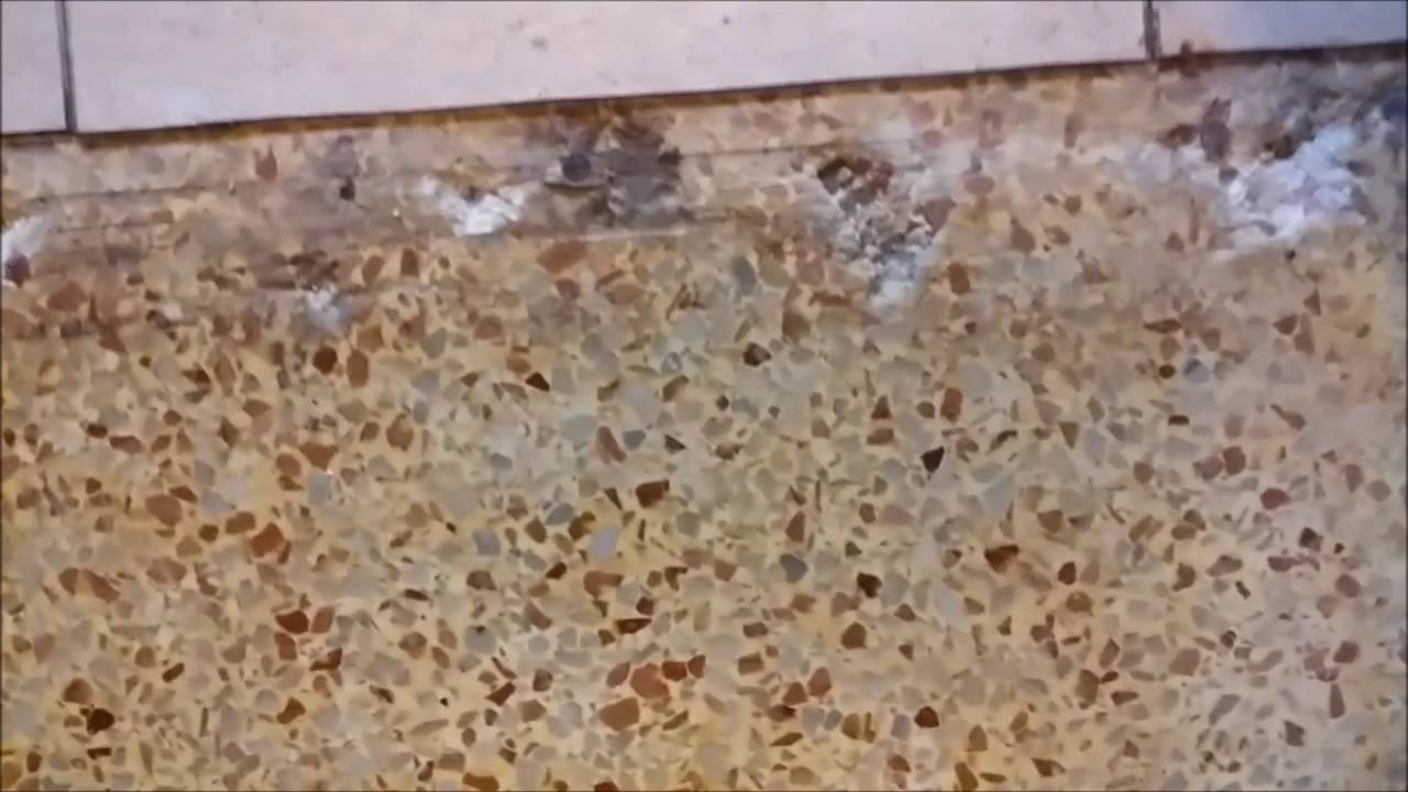 Hiding Holes In The Concrete Floor After Removing Carpet