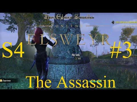 ESO-Elder Scrolls Online Elsweyr Let's Play Series 4 #3 The Assassin