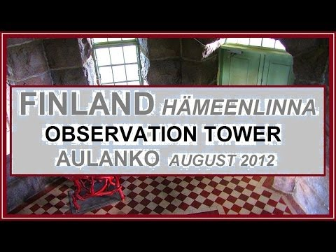 Aulanko observation tower. @Hämeenlinna, Finland 8/2012.