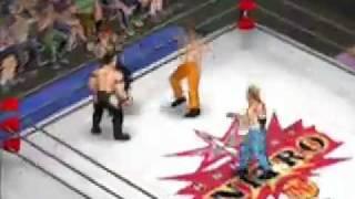 WCW Nitro Fire Pro Wrestling Returns Style