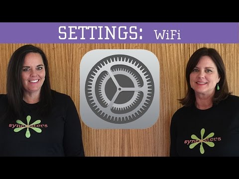 IPhone / IPad Settings - WiFi