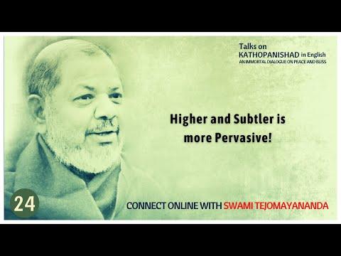 Day 24 Kathopanishad   #SwamiTejomayananda   #Upanishad  #Vedanta   #ChinmayaMission