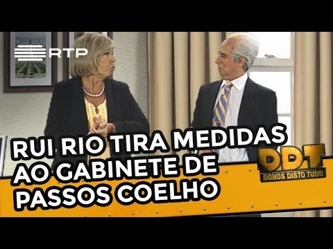 Rui Rio tira as medidas ao gabinete de Passos Coelho | Donos Disto Tudo | RTP