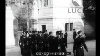 XII anno della costituzione dei Moschettieri del Duce - guardia personale di Mussolini