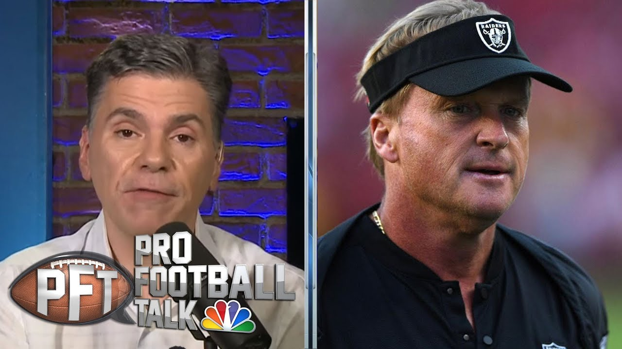 PFT Overtime: Oakland Raiders' mess with AB falls on Jon Gruden | Pro Football Talk | NBC Sports
