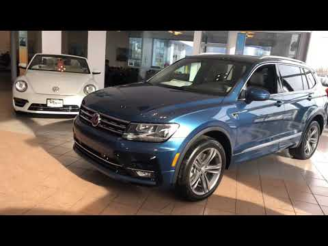 2019 Volkswagen Tiguan SEL R Line For Sale Columbus Ohio 191722