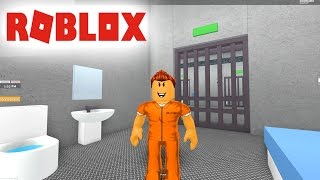 ROBLOX ESCAPEING FROM THE CARCEL!!! I'M A DANGEROUS GUY.