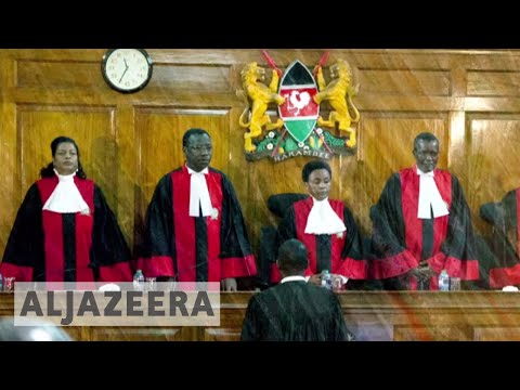 Kenya's supreme court to decide over Kenyatta's re-election