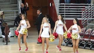 trojancandy.com:  The Spirit of Troy and USC Song Girls Perform at the USV Men's Volleyball Match