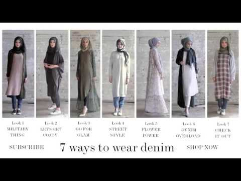 Modest Fashion | Style Guide - 7 Ways to Wear Denim
