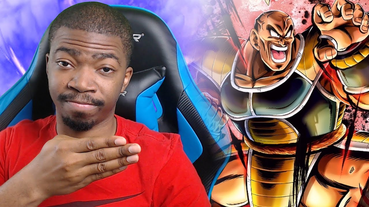THE FIERCE AND TERRIFYING NAPPA!!! Dragon Ball Legends Gameplay!