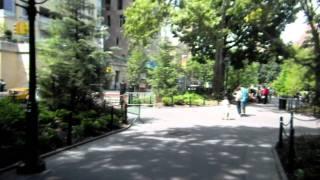 Washington Square Park, and New York University (NYU).