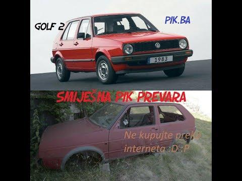 PRODAJA GOLF 2 ( PARODIJA )