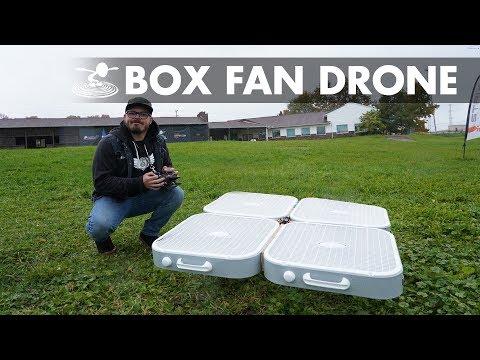 Flying Box Fan Drone!