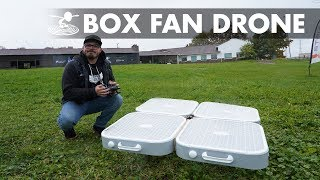 Flying Box Fan Drone!