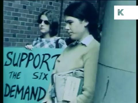 1968 Columbia University Student Sit-in Protest
