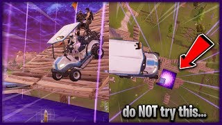 Do NOT try doing this yourself... 😅 ft. Shockwave Grenade & Zero Gravity Cube